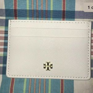 Tory Burch Leather Credit Card Case